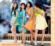 SUMMER COLLECTION WESTERN WEAR ONE PIECE SHORT DRESSES BY Umair Zafar